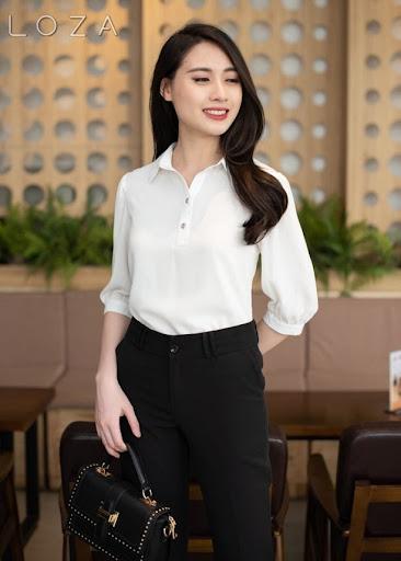 ao dong phuc cong ty dep 10 - May áo đồng phục công ty ở Hà Nội đẹp, uy tín, chất lượng nhất