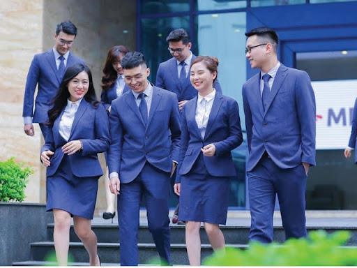 cong ty may dong phuc cong so 4 - Địa chỉ thiết kế, may đồng phục công sở tại hà nội chuyên nghiệp