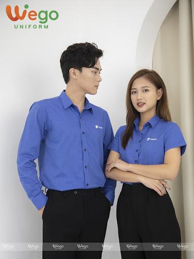 may dong phuc van phong 1 - Đặt may áo đồng phục công ty - 500 mẫu đồng phục công ty đẹp