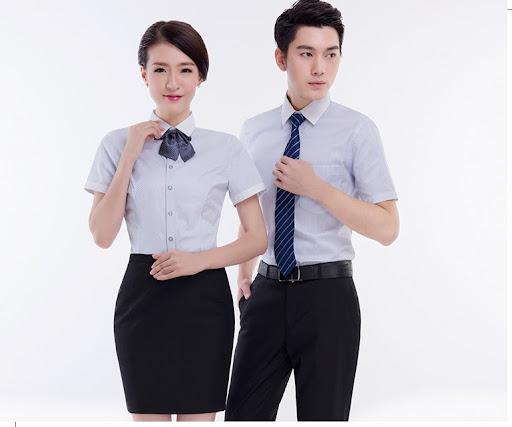 may dong phuc van phong 3 - Đặt may áo đồng phục công ty - 500 mẫu đồng phục công ty đẹp