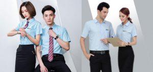 Đặt may áo đồng phục công ty – 500 mẫu đồng phục công ty đẹp