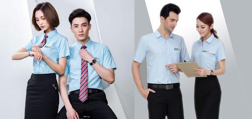 may dong phuc van phong 4 - Đặt may áo đồng phục công ty - 500 mẫu đồng phục công ty đẹp